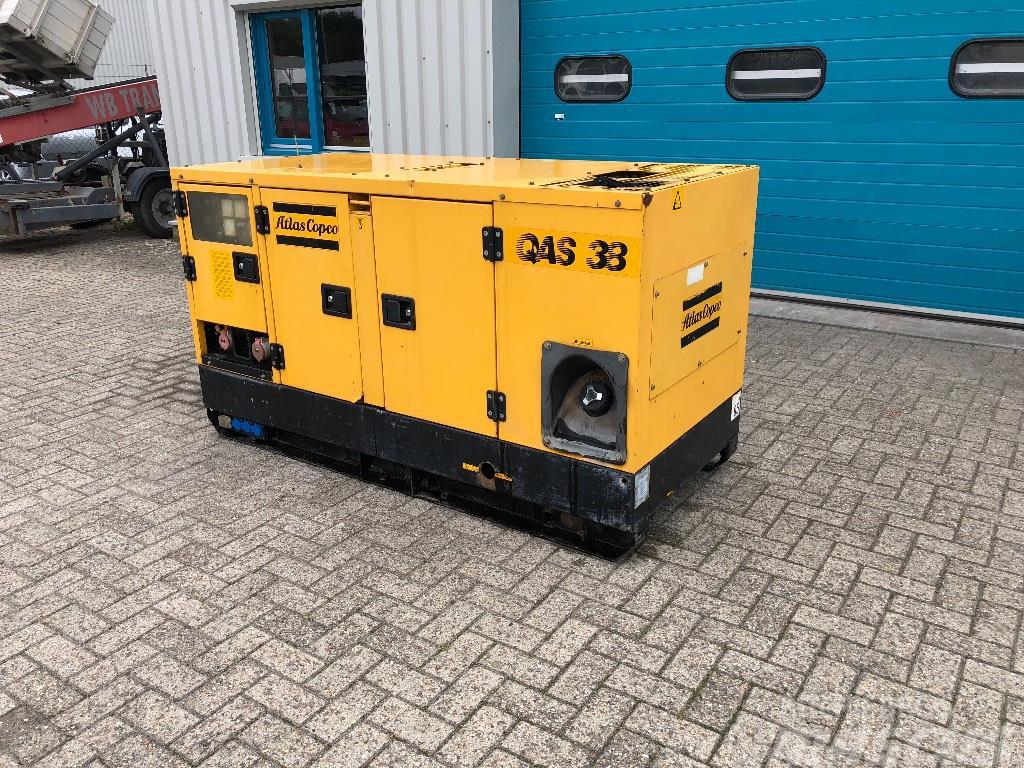 Atlas Copco QAS 38 Super Silent, Aggregaat, Generator,35 kVa