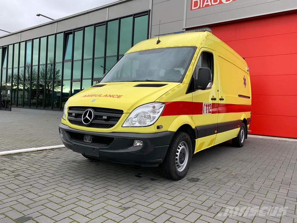Mercedes-Benz 316 CDI Ambulance Belgian registration