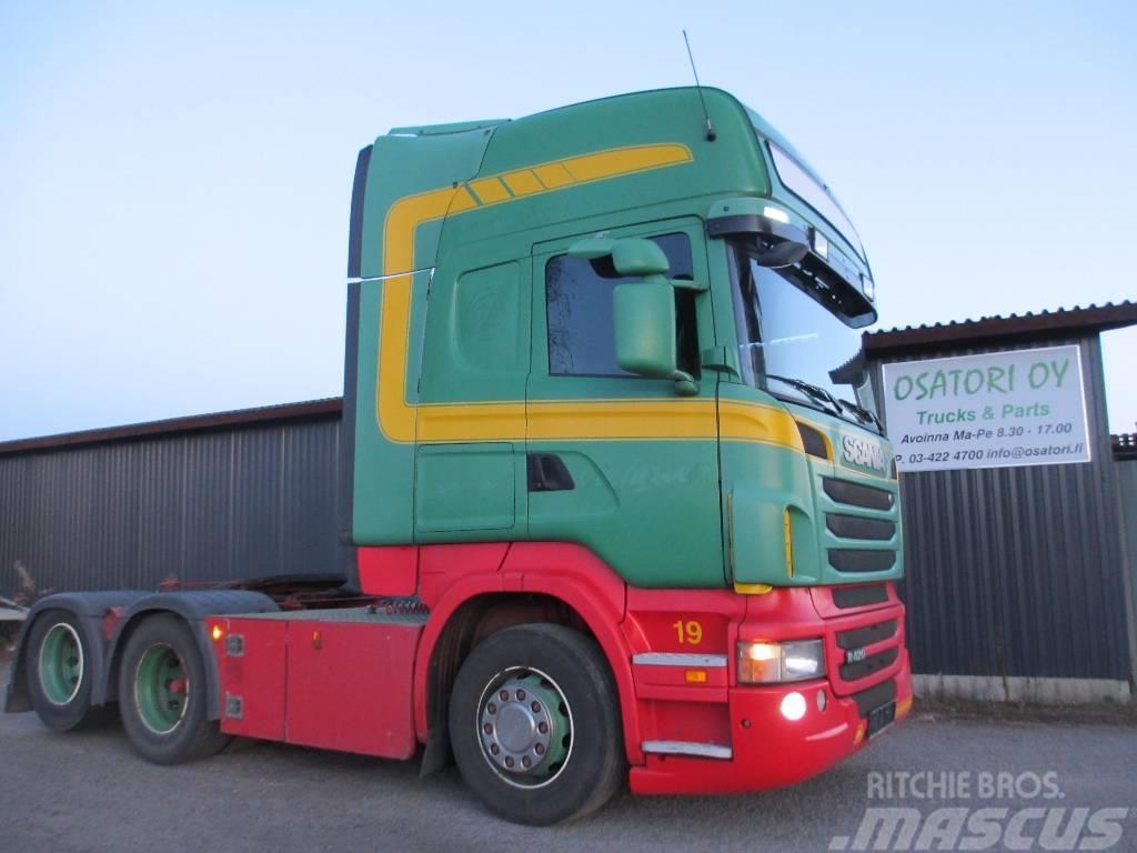 Scania R 420 10pyörä veturi,EURO 5