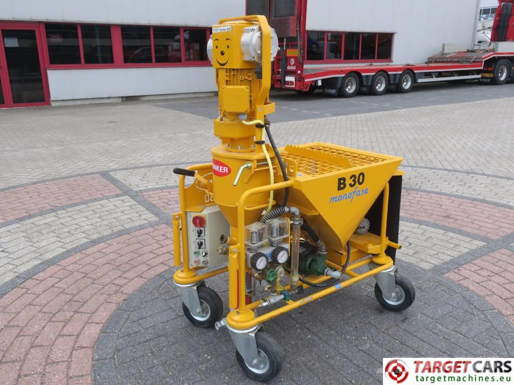 [Other] Bunker B30 220V Plastering Machine New Unused