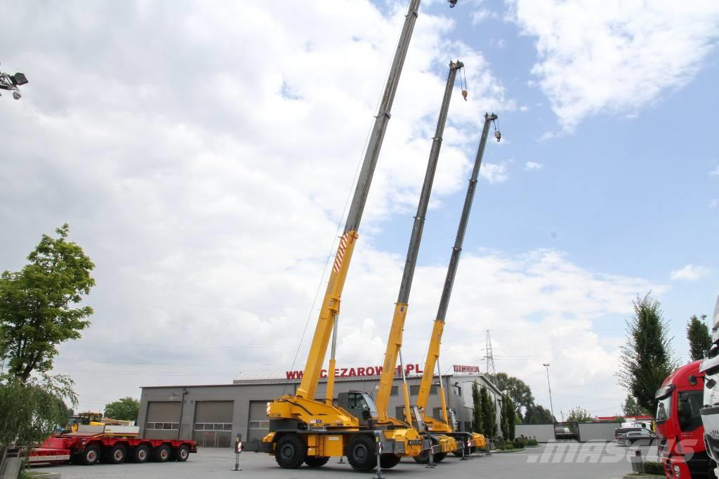 Locatelli ROUGH TERRAIN CRANES GRIL8600T GRILL8300T 4x4x4