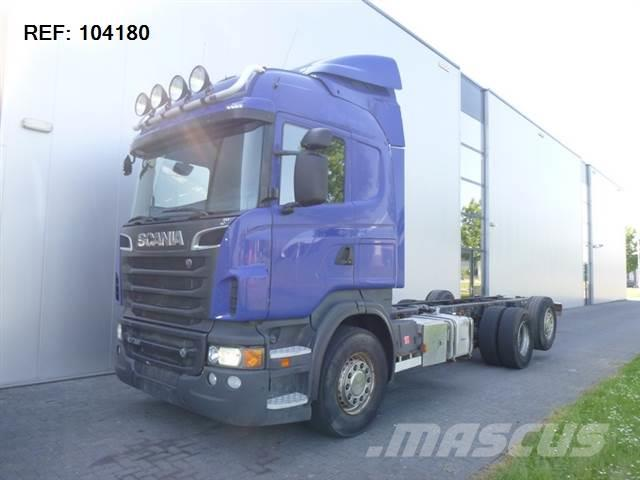 Scania R730 6X2 CHASSIS RETARDER EURO 5