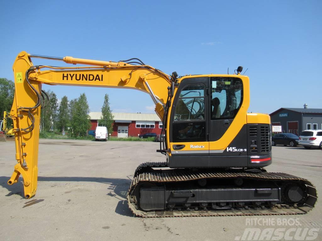 Hyundai MYYTY! SOLD! R145LCR-9 HUOLLETTU
