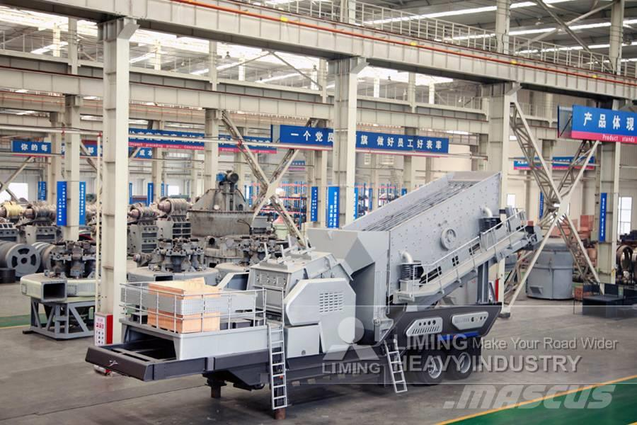 Liming Secondary crushing and screening plant