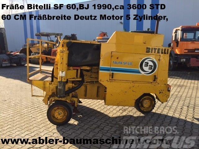 Bitelli SF 60 Asphaltfräße