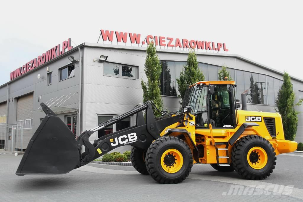 JCB WHEEL LOADER 17.6 T 436EHT HIGH LIFT