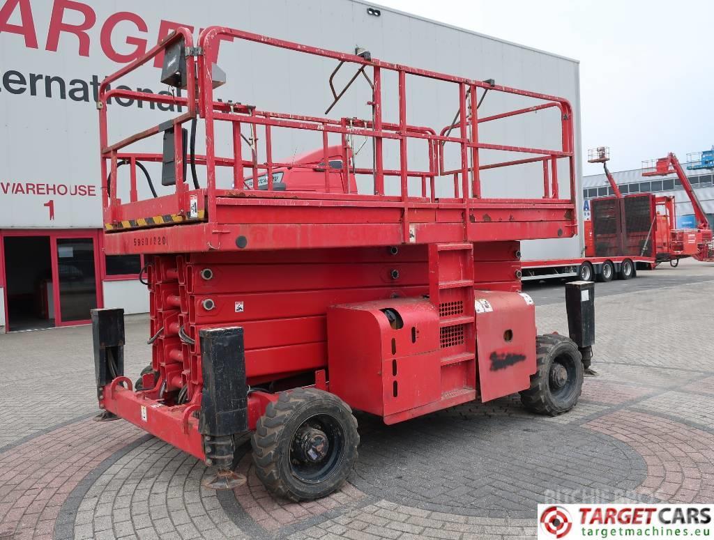 Haulotte H18SX Diesel 4x4 Scissor Work Lift 1800cm Jacklegs