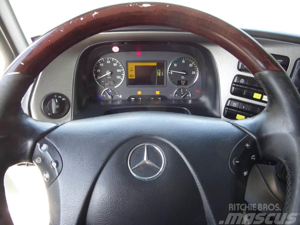 Mercedes-Benz Actros 2541 Vaihtolava koukkulaite, 2009, Lastväxlare