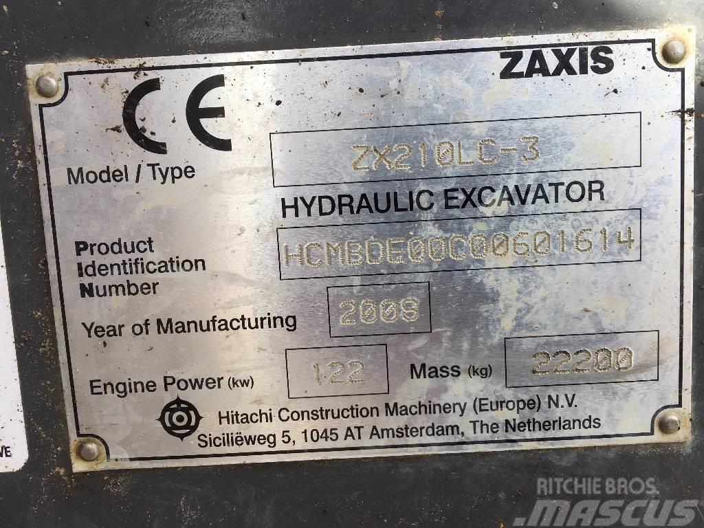 Hitachi Zaxis 210 Lc, 2008, Bandgrävare