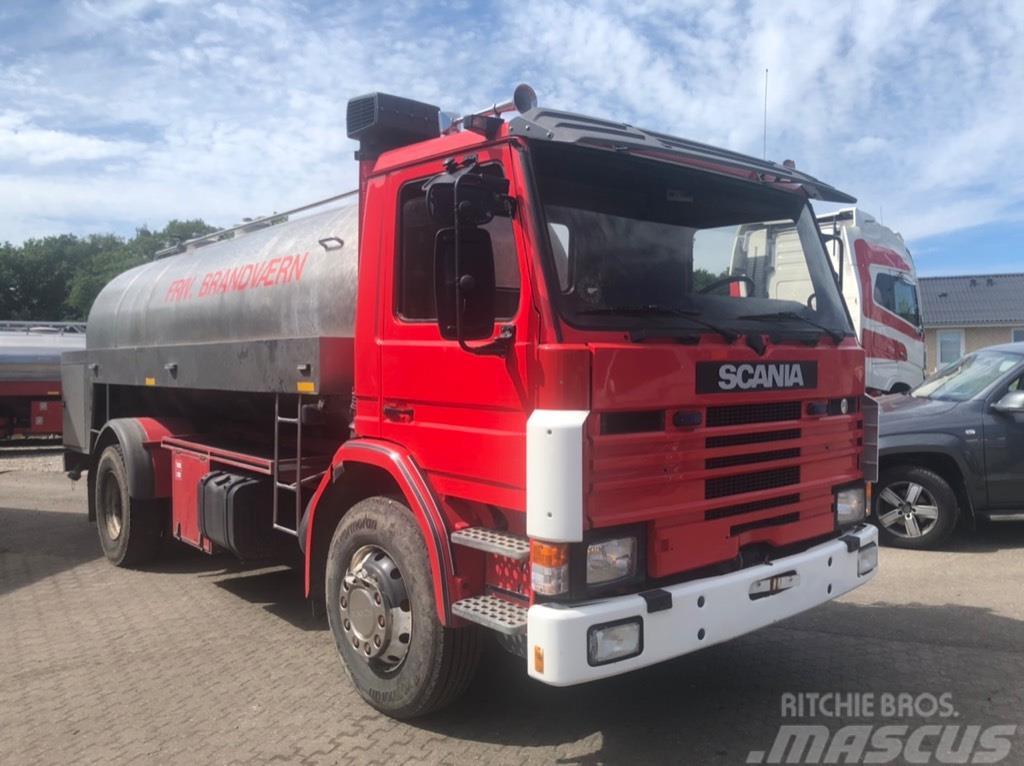 Scania 92 WATERTANK FIRETRUCK FEUERWEHR