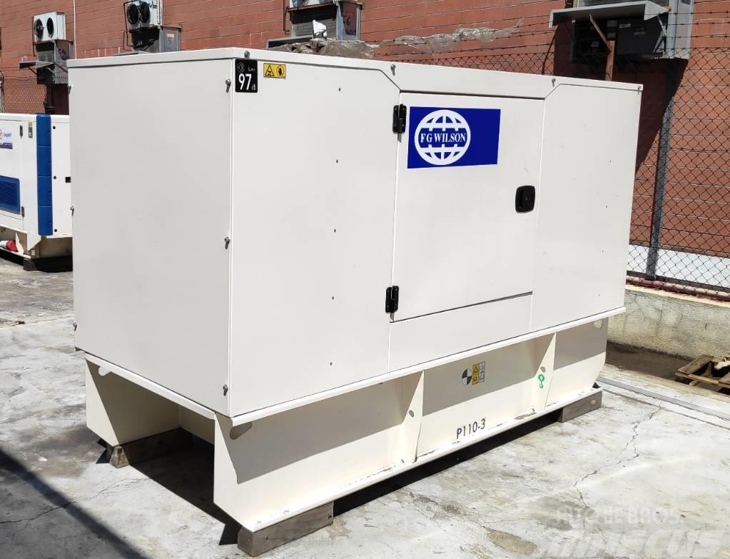 FG Wilson P110-3 110 kVA PERKINS New