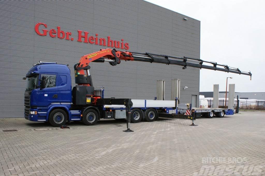 Scania R490 8x2 Euro 6 Palfinger PK 78002SH 8 x Hydr. + F