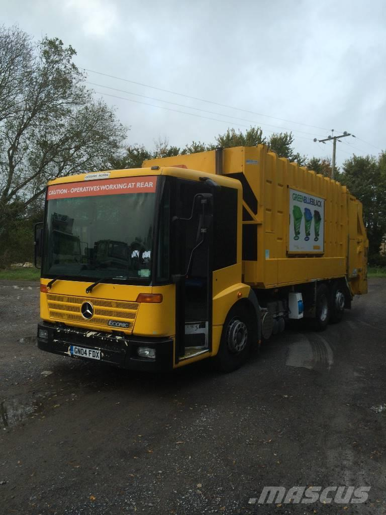 Mercedes-Benz econic 2628, 2003, Waste trucks ...