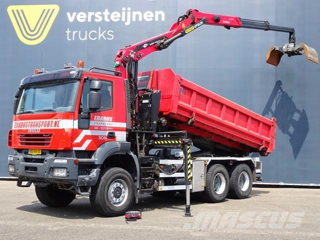 Iveco 380T45 6x6 / EURO 5 / KRAAN + CONTAINER SYSTEEM