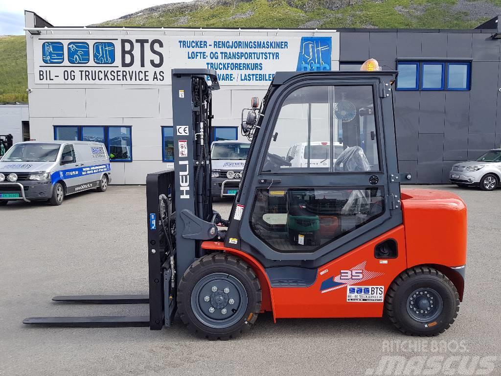 Heli CPCD35-W15H - 3,5 tonns dieseltruck (PÅ LAGER)
