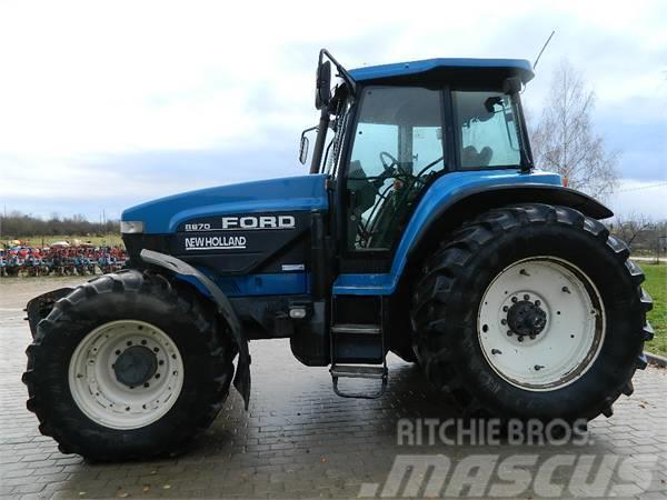Ford 8670, 1995, Traktorer