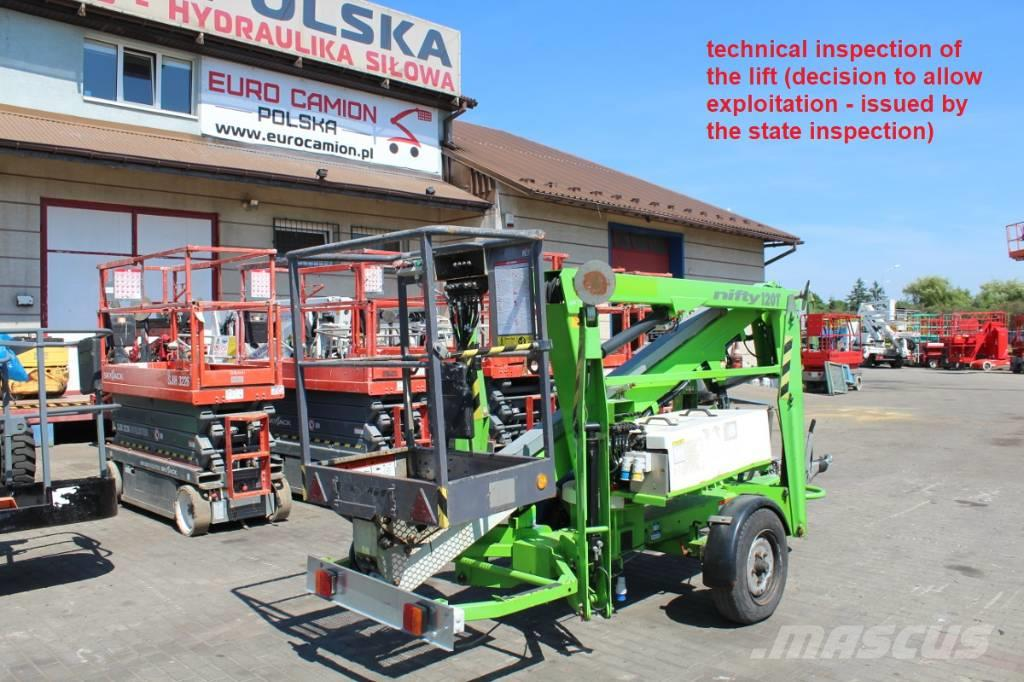 Niftylift 120 TE - 12 M (technical inspection)