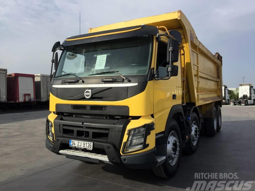 Volvo 2015 FMX 460 AC E5- 8X4- 70 TONS! BIG WHEELS