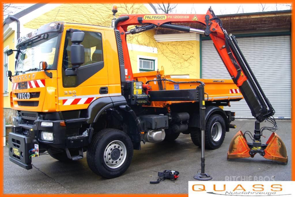 Iveco 190T33 Trakker 4x4/PK 12001/MEILLER/Winterd./TÜV