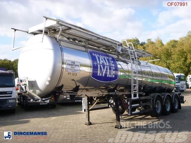 Feldbinder Food tank inox 23.5 m3 / 1 comp + pump