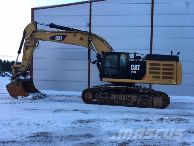 Used Caterpillar 349E crawler excavators Year: 2014 for sale