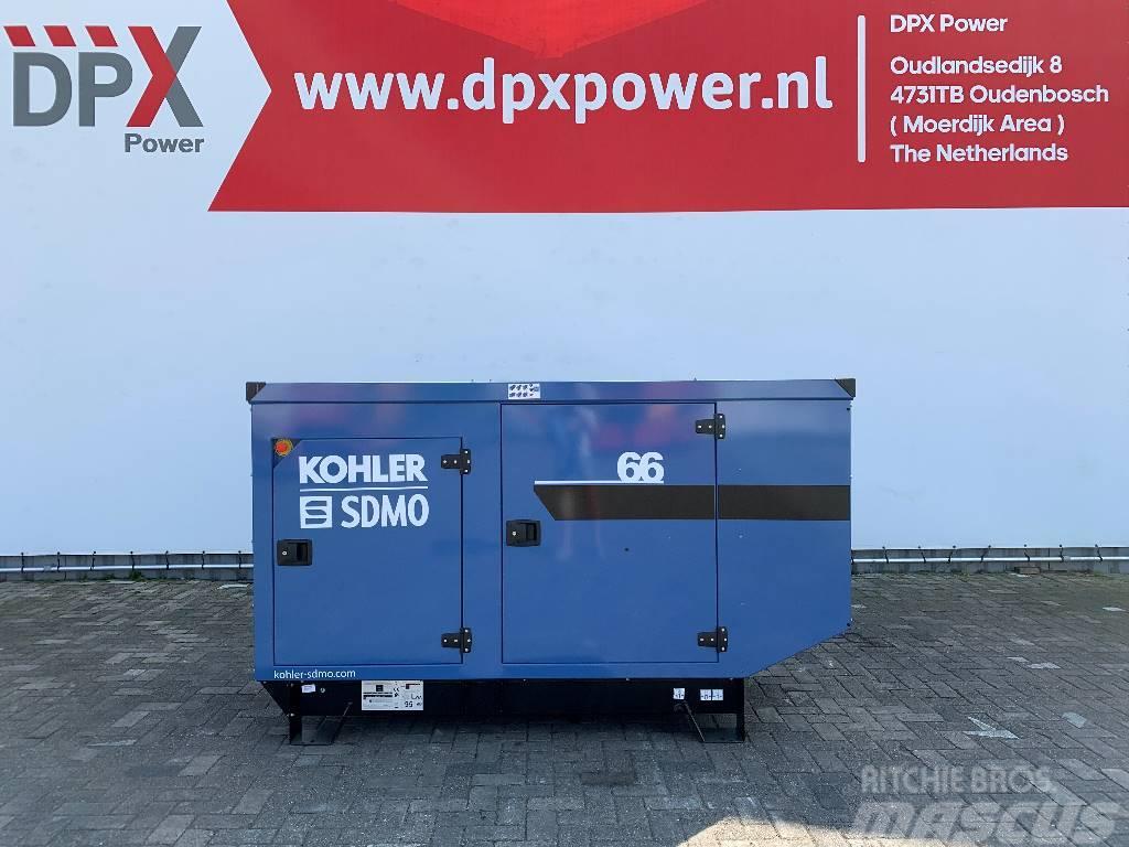 Sdmo J66 - 66 kVA Generator - DPX-17103