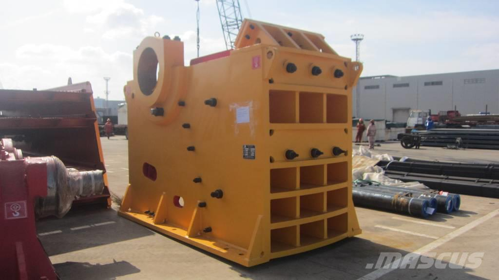 White Lai High Capacity Jaw Crusher Machine PE-900x1200
