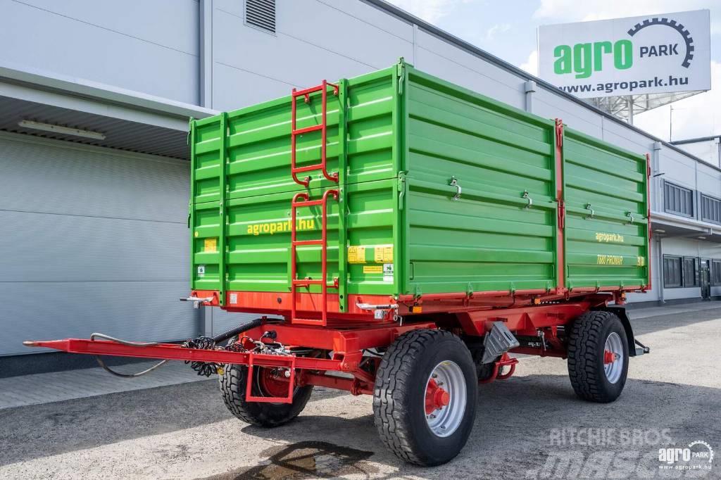 Pronar T680, 18 tons (13t permissible mass), 3-way tipper