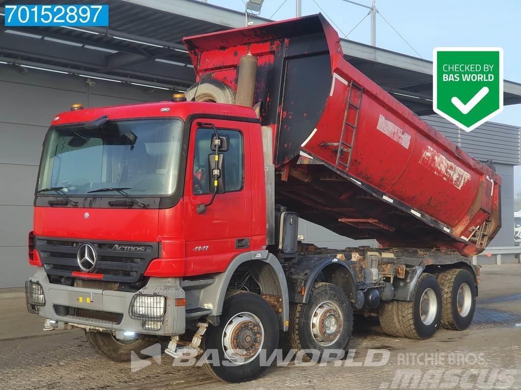 Mercedes-Benz Actros 4141 8X6 Big Axle 20m3 3-pedals Euro 3