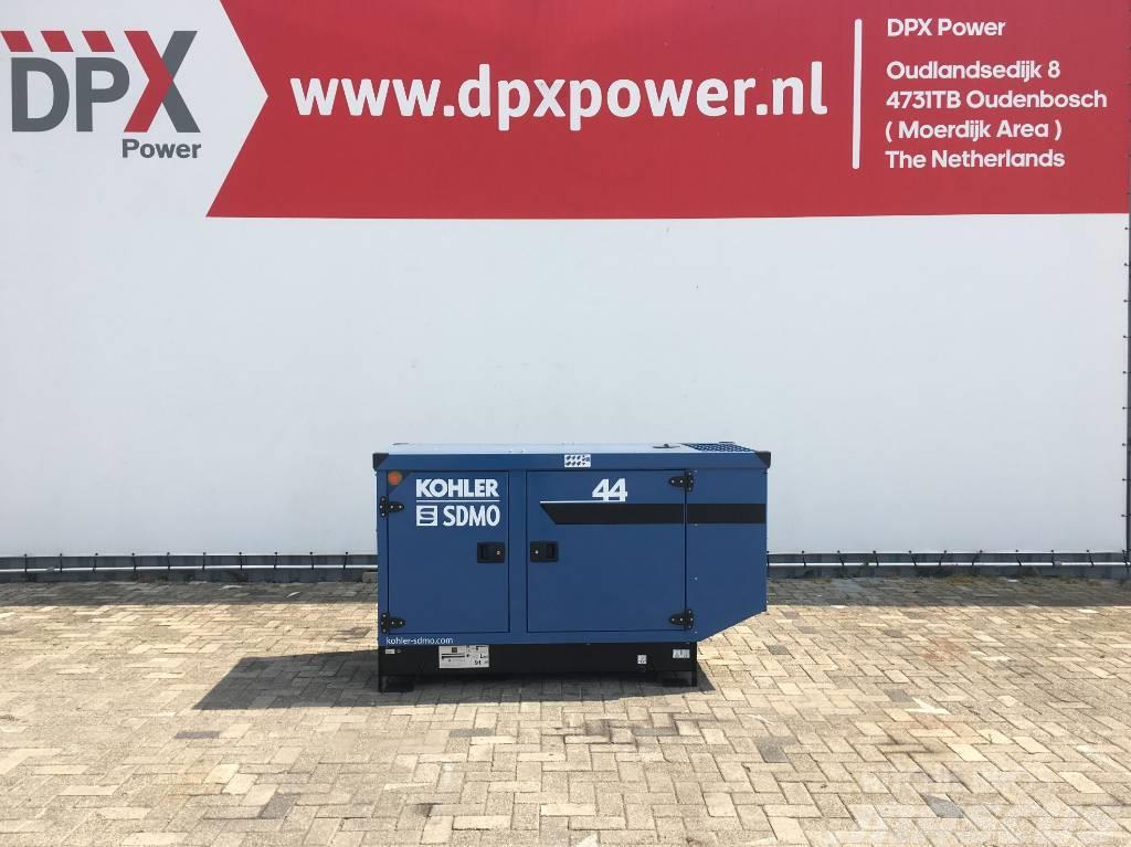 Sdmo J44K - 44 kVA Generator - DPX-17102