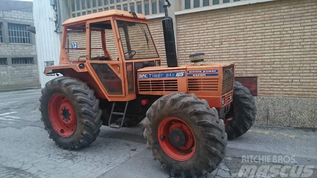 same tiger six 105 preis baujahr 1980 gebrauchte traktoren gebraucht kaufen und. Black Bedroom Furniture Sets. Home Design Ideas