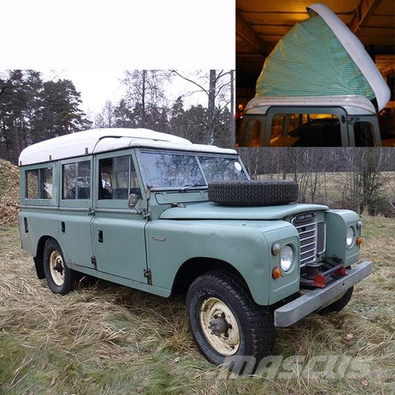 land rover 109 serie 2 dormobile camper preis baujahr 1971 wohnmobile und. Black Bedroom Furniture Sets. Home Design Ideas