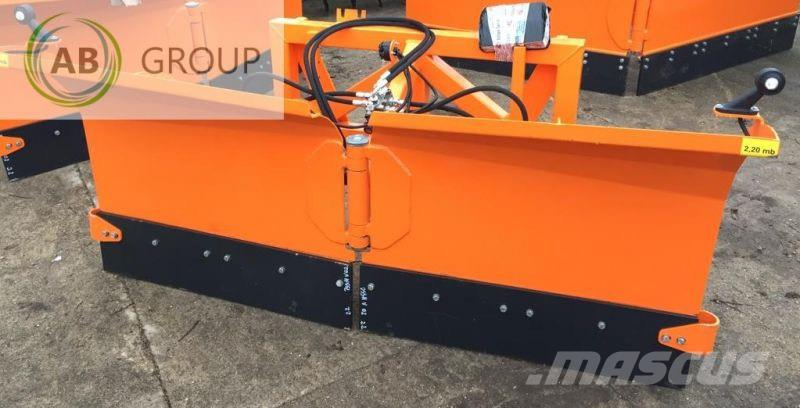 Inter-Tech /Hydraulic snow plough 2.2 m /Hydraulischer Pflug