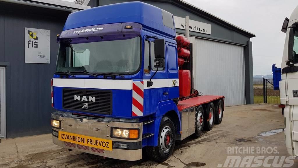 MAN 41.603 8X4 tractor unit euro 2