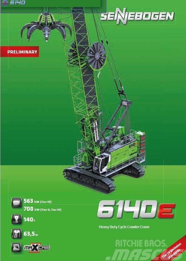 różne style kup popularne Nowy Jork Used Sennebogen 6140 HD E Series crawler Cranes Year: 2019 ...
