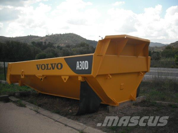 Volvo A30D  complet machine in parts