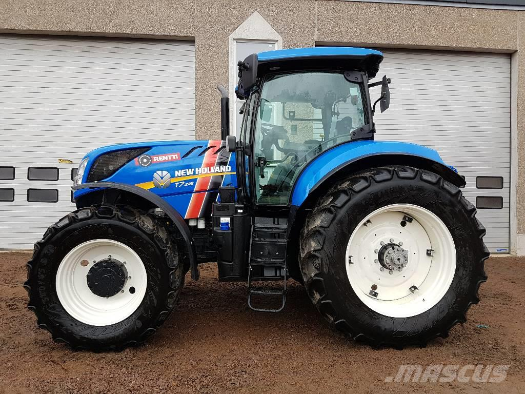 New Holland T7.245 PC Sidewinder