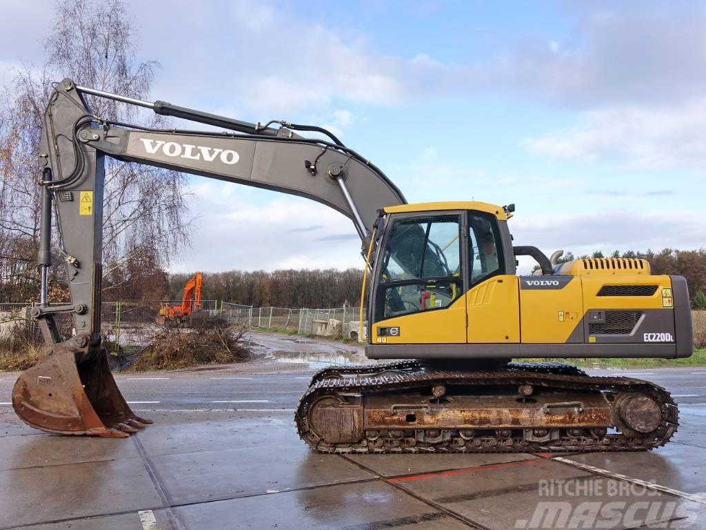 Used Volvo Ec220dl Top Condition Crawler Excavators Year