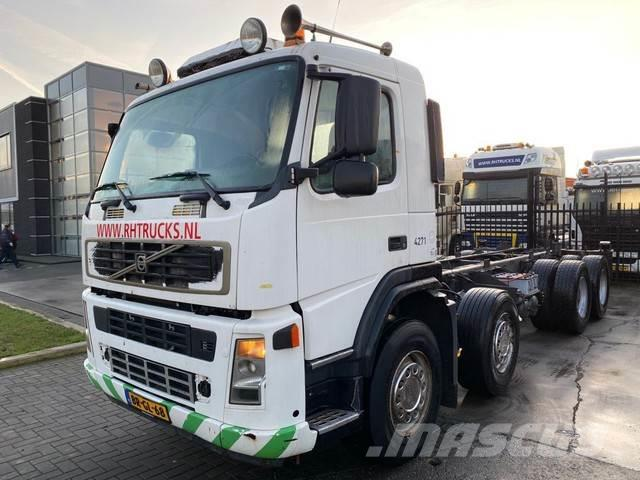 Volvo FM 12-340 8X4 MANUAL FULL STEEL EURO 3