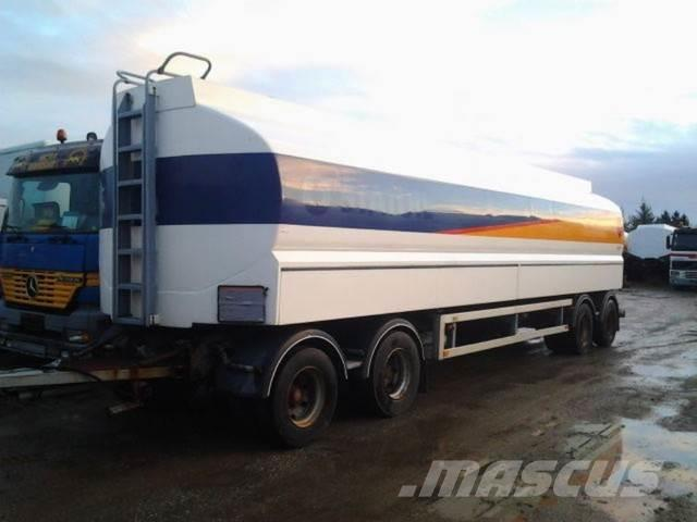 Kässbohrer 35000 Liter Tank Petrol fuel ADR Fuel