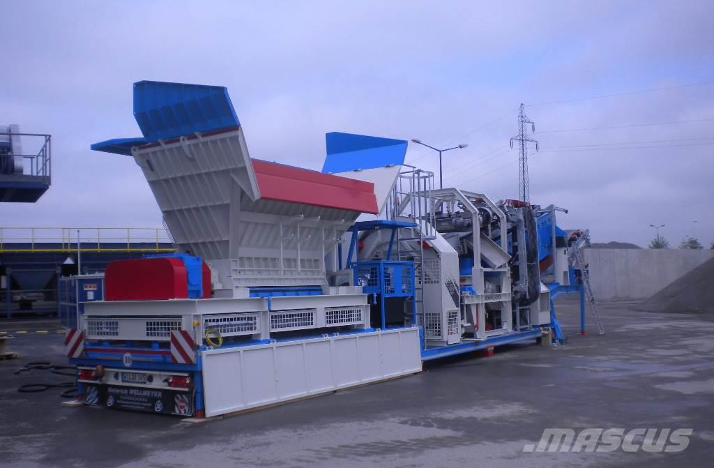 Benninghoven MBRG-2000-2 mobilny granulator destruktu