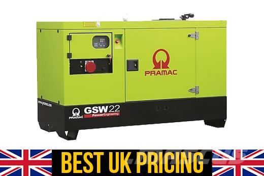 Pramac GSW 22kVA Auto Start UK Perkins Genset for House