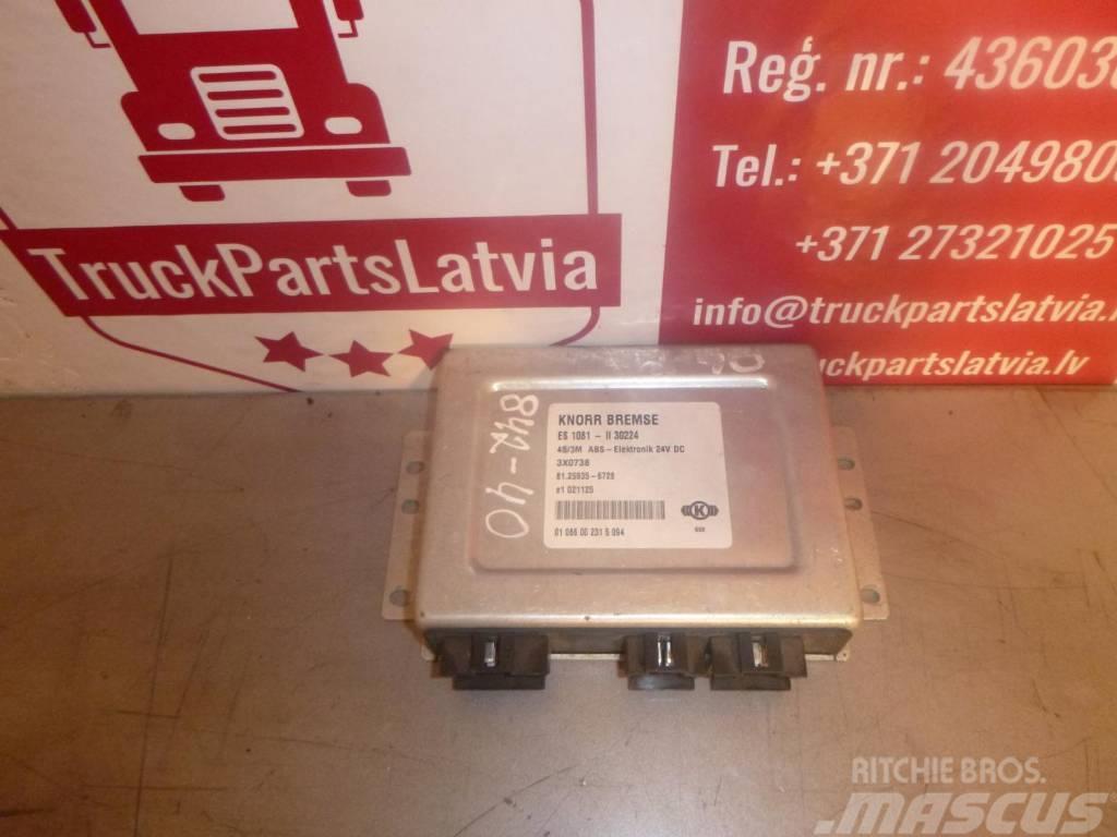 MAN LE160C ECAS ELECTRONIC CONTROL UNIT 446055301