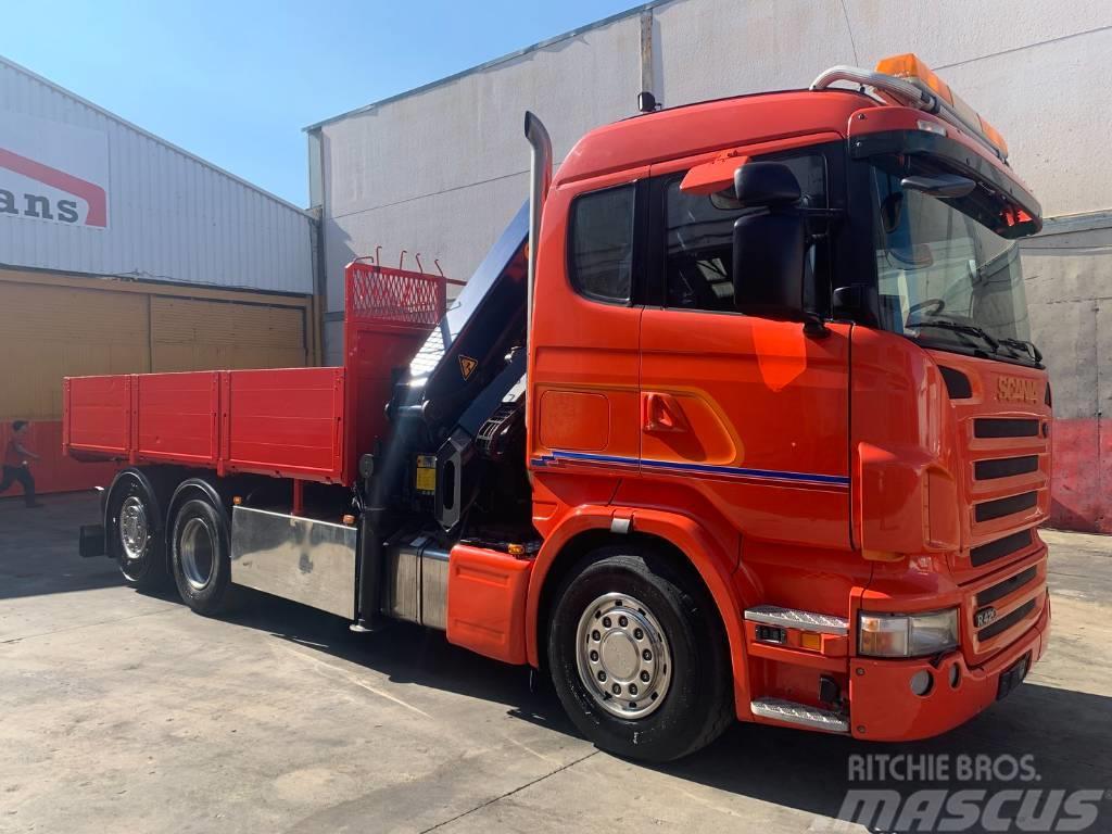 Scania R420 Palfinger 27002 SH
