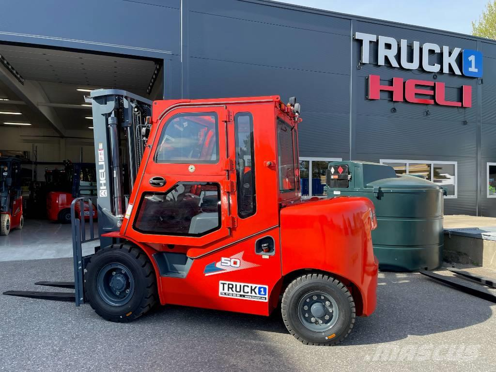 Heli CPCD50 (H3) - 5,0 t diesel - 3,7 m LH (PÅ LAGER)