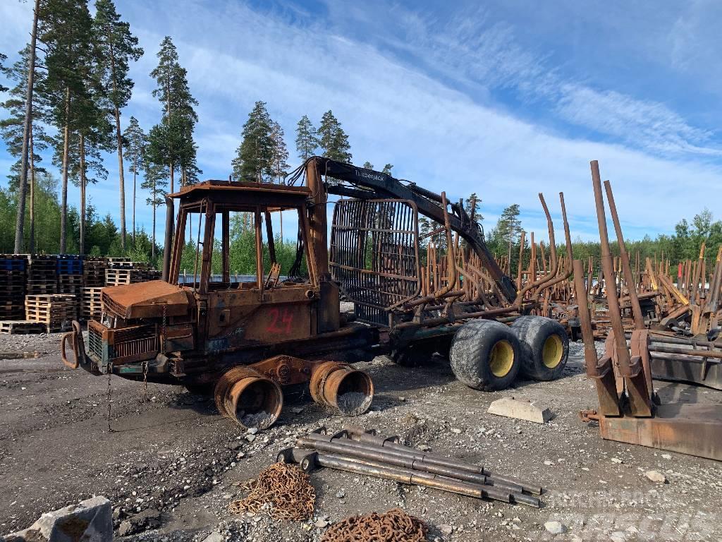 Timberjack 810 Demonteras