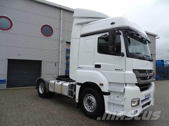 Mercedes-Benz AXOR 1843 / AUTOMATIC / EURO-5 / 2013