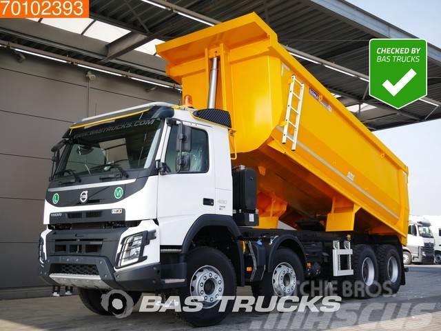 Volvo FMX 460 8X4 25m3 VEB+ Big-Axle Steelsuspension Eur