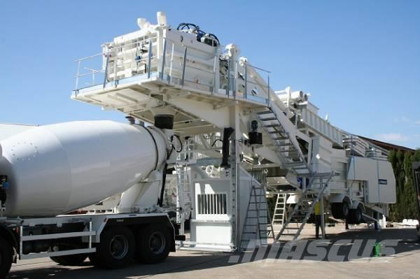 Frumecar ECA 3000 mobile concrete plant