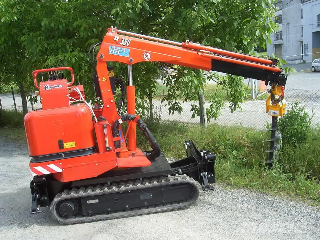 Ghedini Auger drive unit for mini excavators TA/TB series